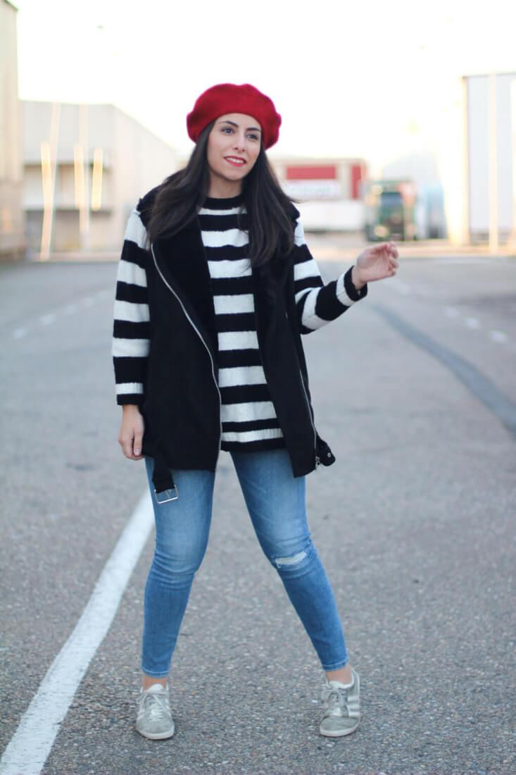 boina-roja-street-style-adidas-gazelle-siempre-hay-algo-que-ponerse