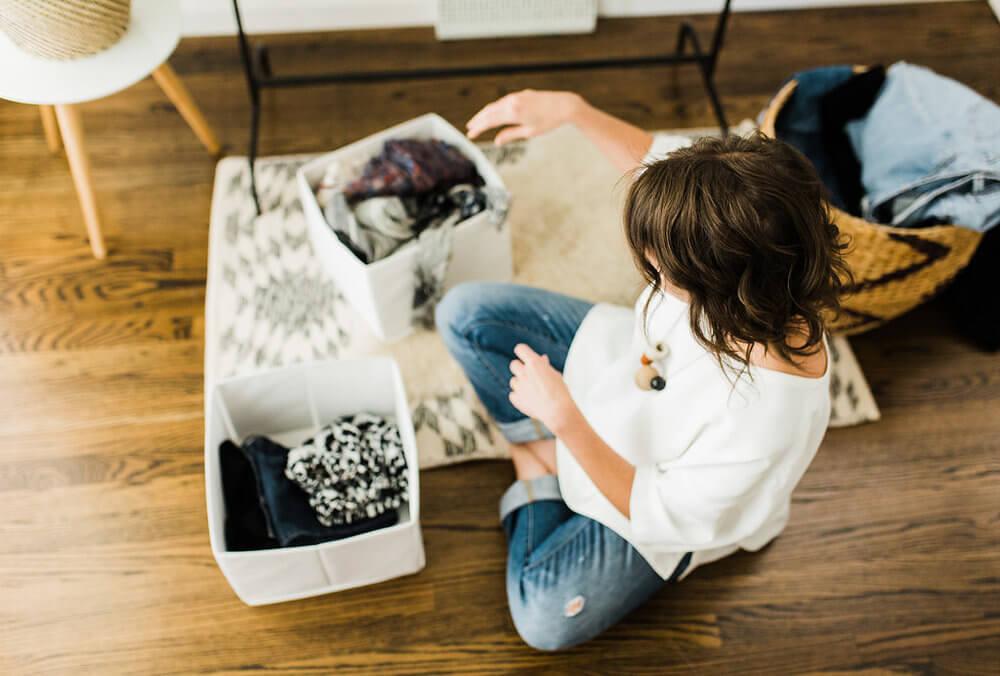 Haciendo cleaning de armario. Vender la ropa que ya no usas.