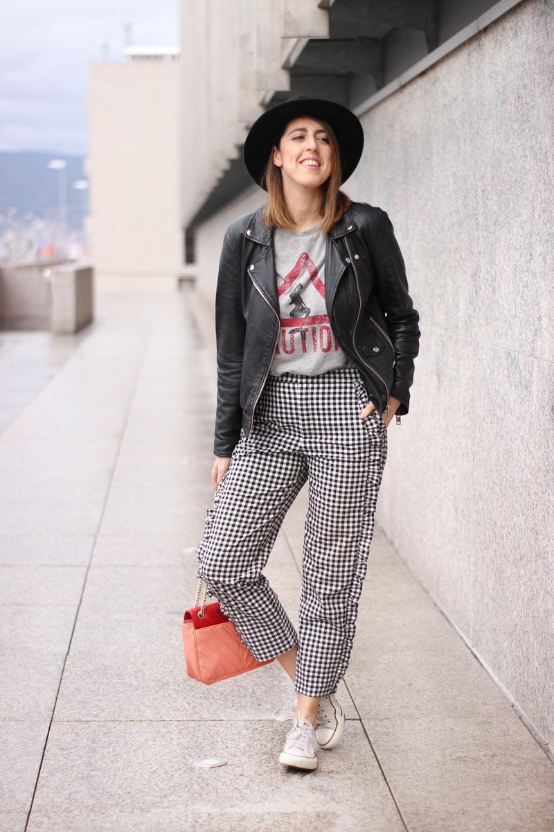 Pantalones cuadros. Blog de moda.