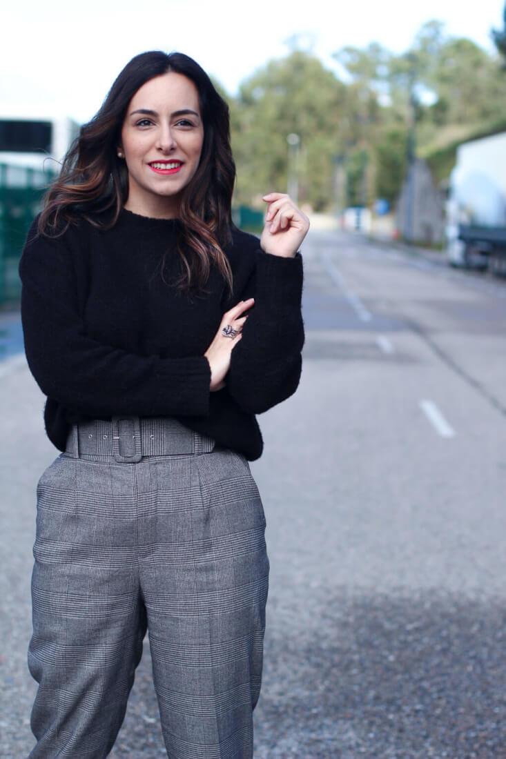 street style cuadros pantalones cuadros siempre hay algo que ponerse