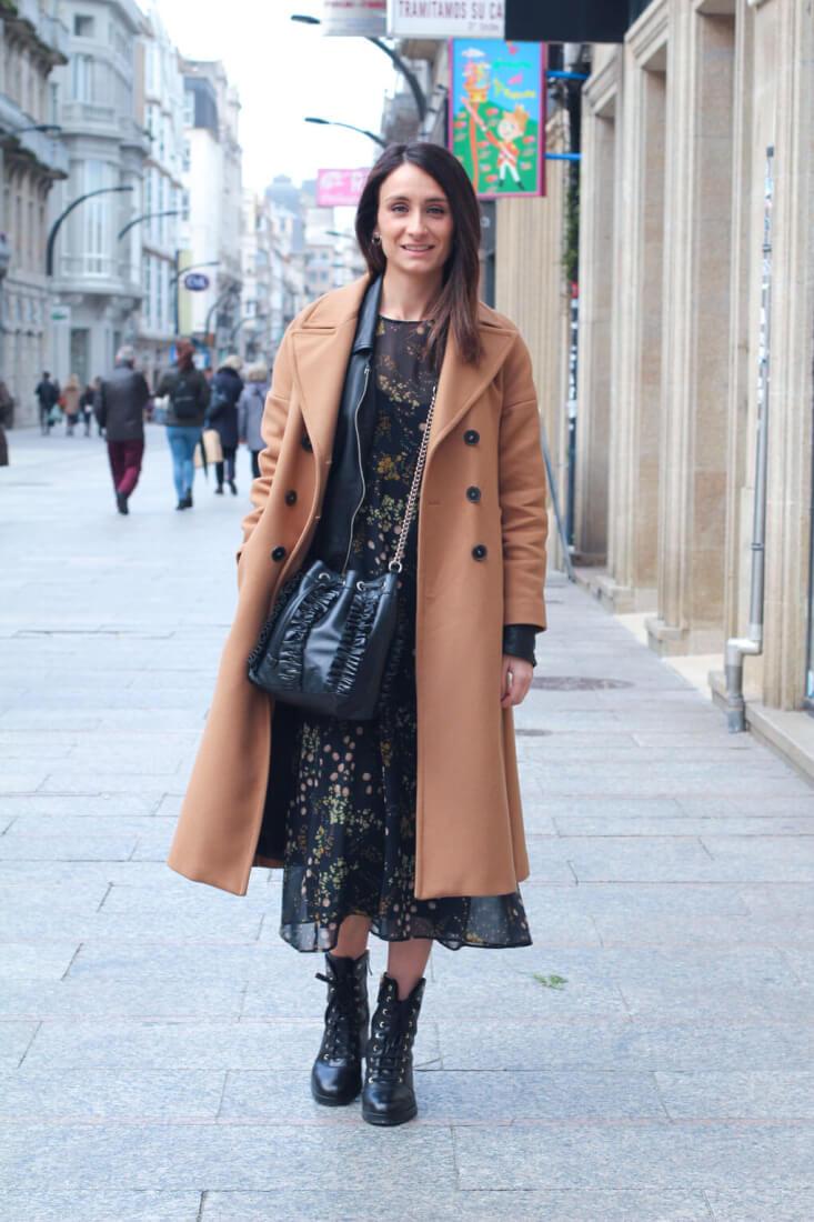 street style vigo street style camel coat