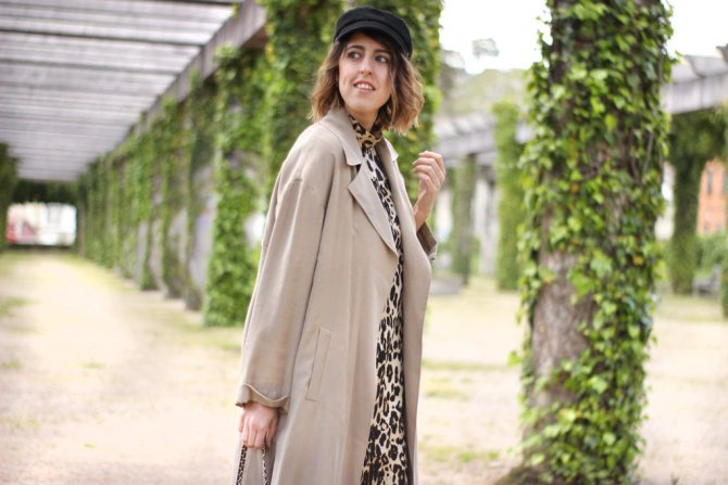 Trench, How to combine it in spring?