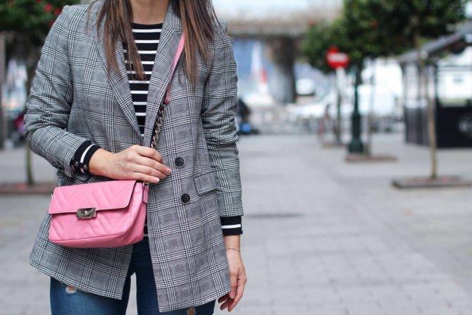 Square blazer