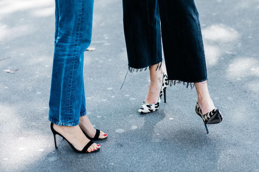 Errores de estilo: Andar mal con tacones altos