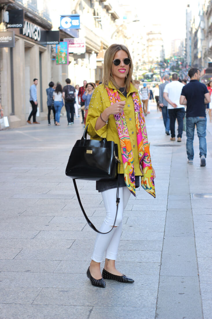 street style vigo mayo street style yellow