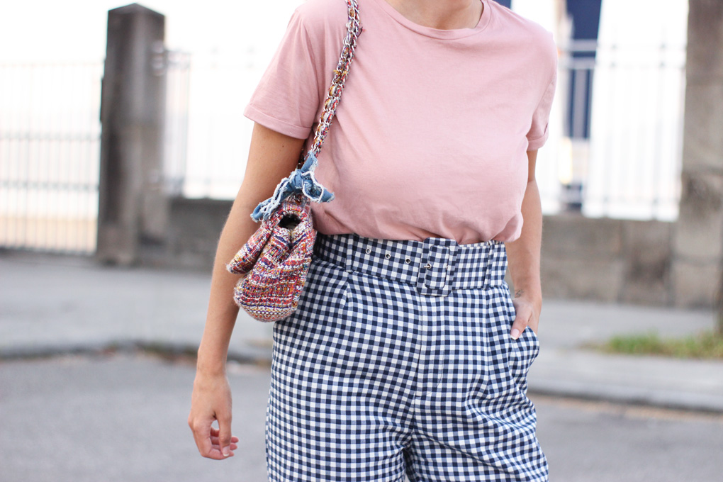 Vichy Checkered Trousers