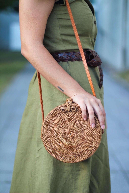 como combinar tu bolso balines siempre hay algo que ponerse blog moda pontevedra vestido lino