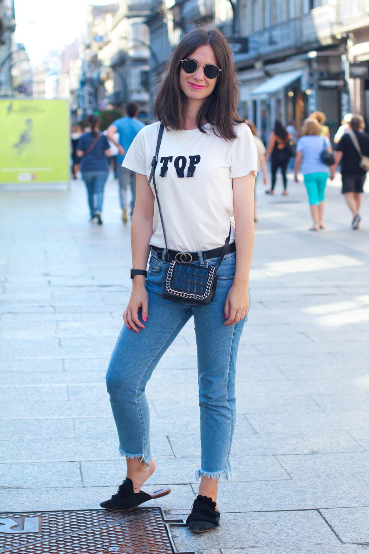 street style mules street style septiembre vigo moda en la calle