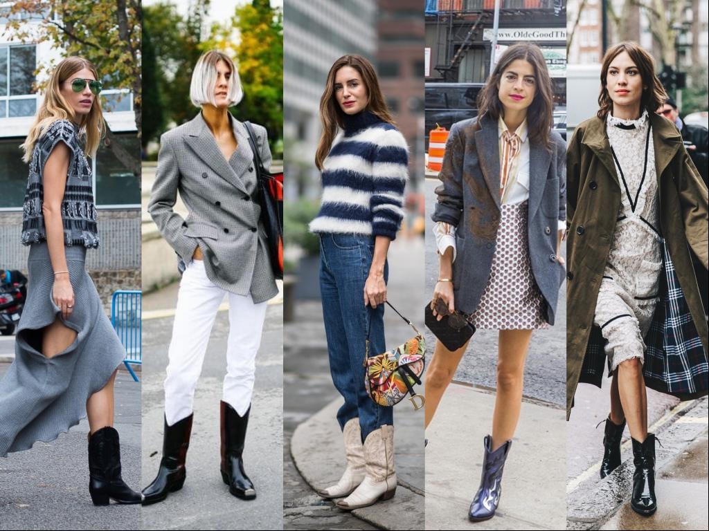 tendencias otoño invierno 2018 botas cowboy