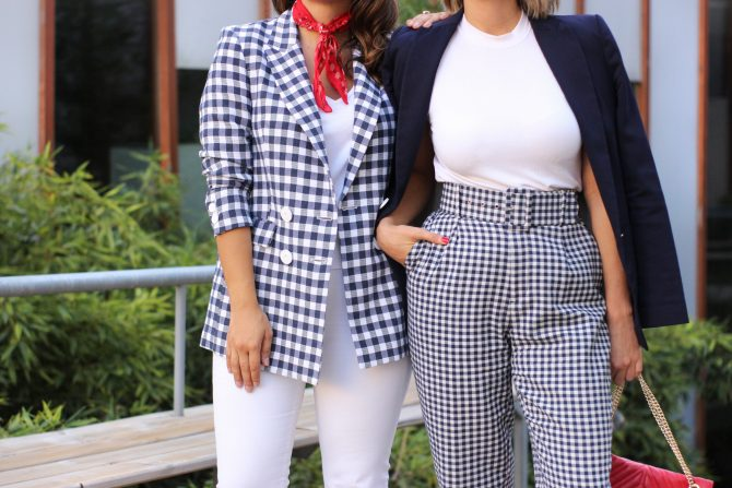 Vichy Checkered Pattern