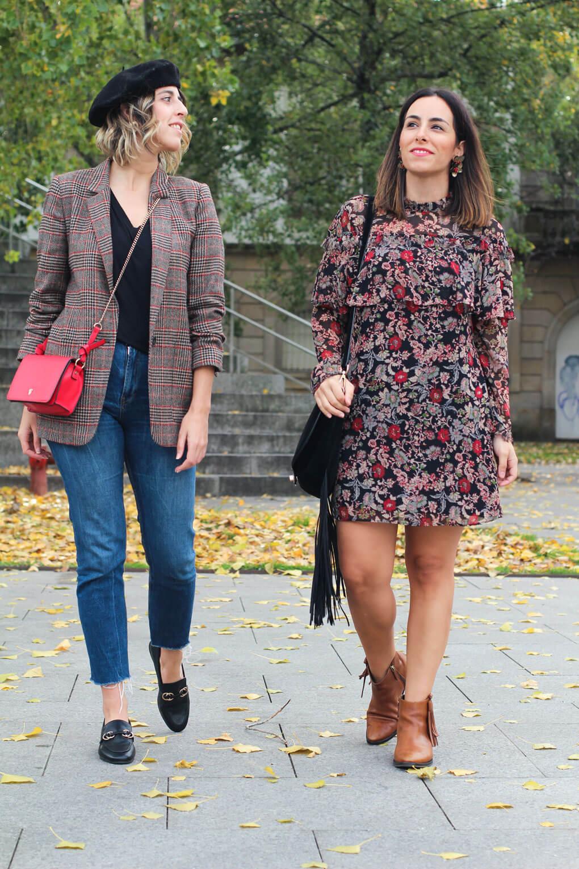 siempre hay algo que ponerse blog moda pontevedra mezclar estampados blog conjunto blog dos chicas