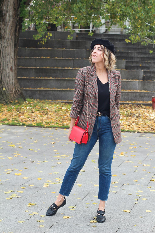 street style boina look con boina siempre hay algo que ponerse mezclar estampados