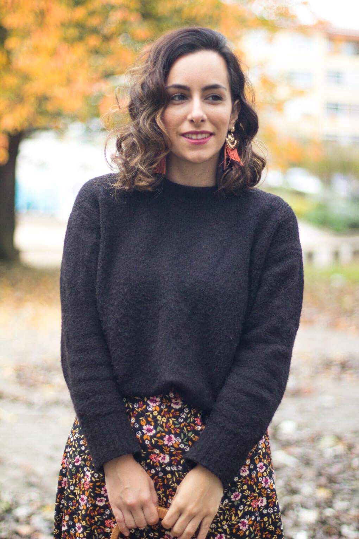 look con falda de flores siemprehayalgoqueponerse moda vigo moda pontevedra