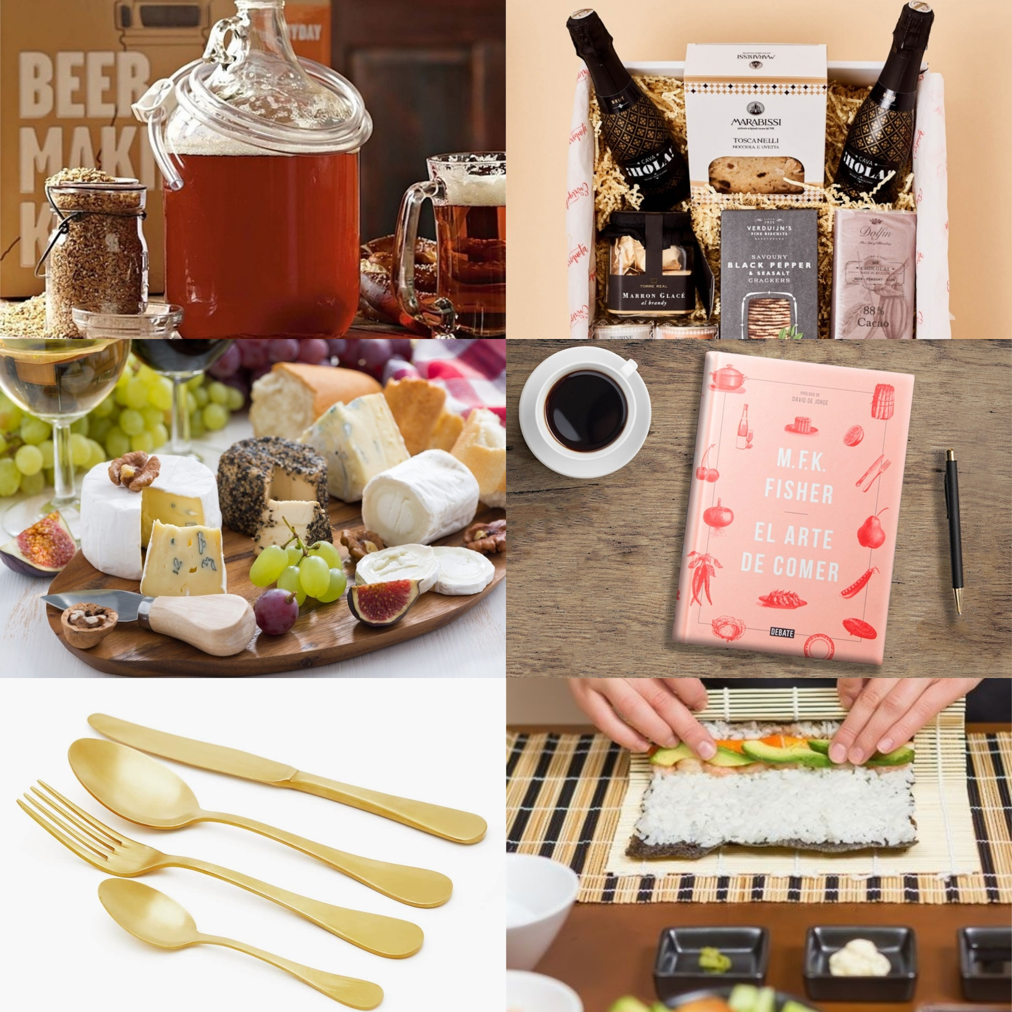regalos perfectos para foodies
