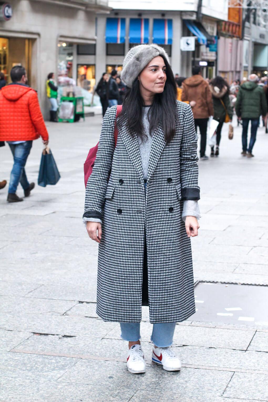 street style vigo diciembre street style gorro de pelo