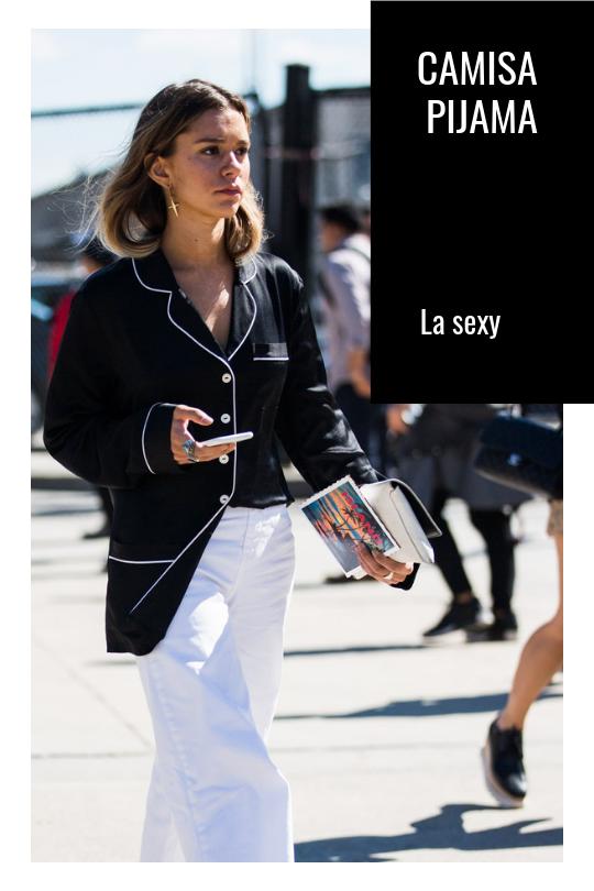 Camisa pijama. Las 5 camisas que no pueden faltar en tu armario
