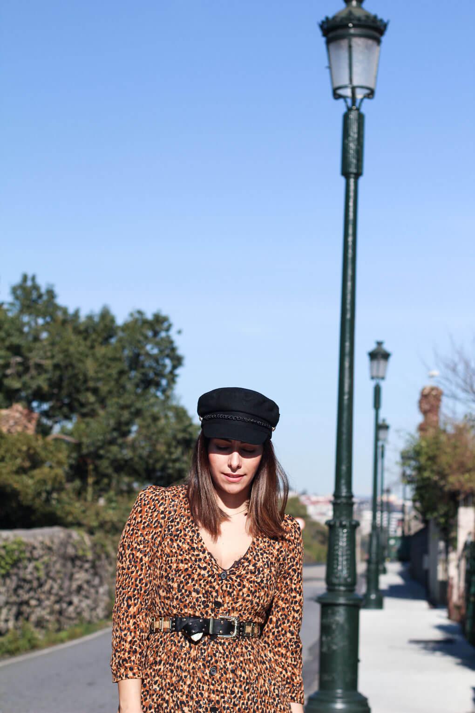 como combinar tu gorra marinera street style leopardo siempre hay algo que ponerse