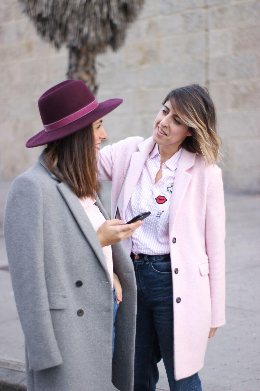 gris y rosa sombrero burdeos zara home como combinar tu sombrero burdeos