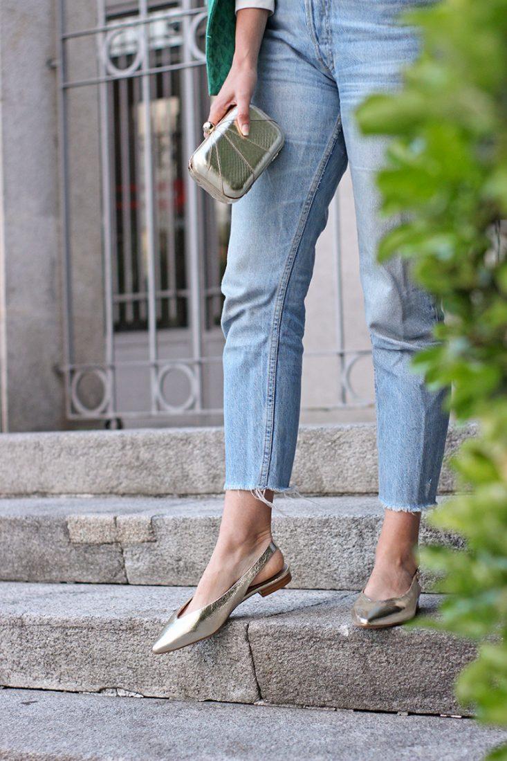 bailarinas-doradas-cortefiel-jeans