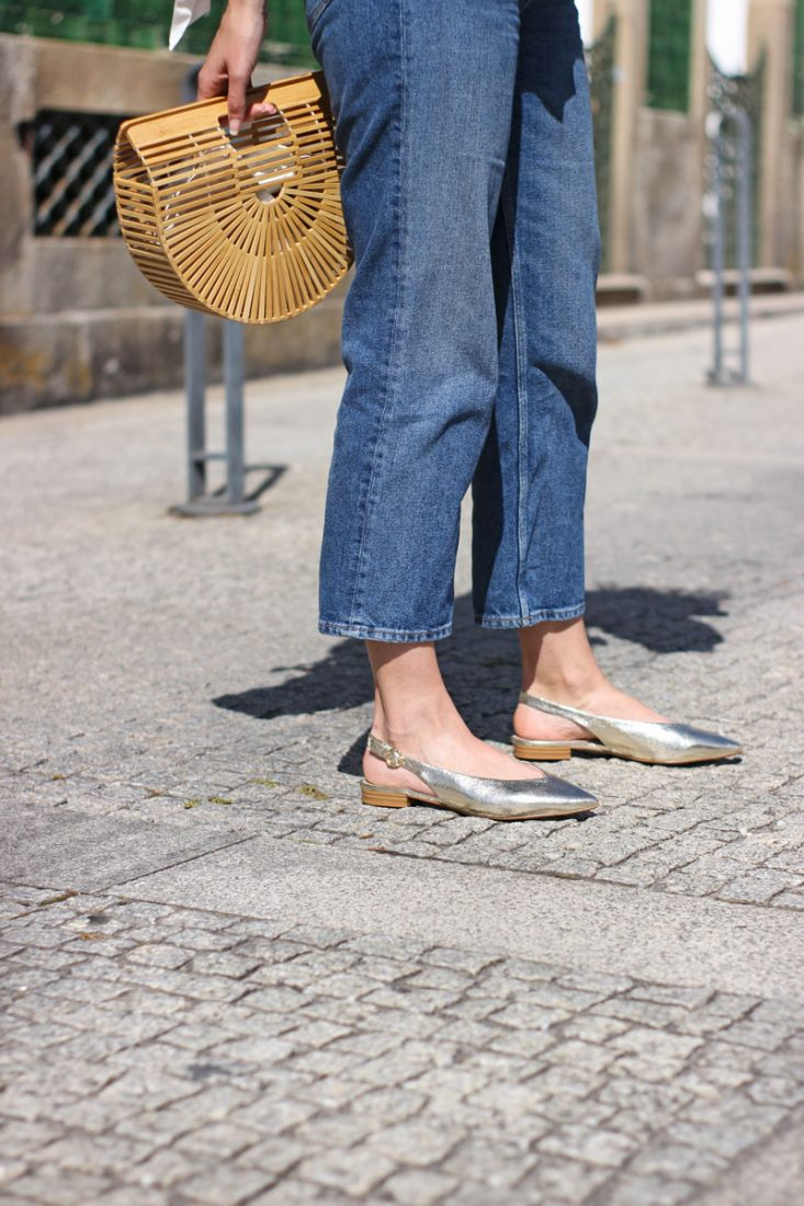 bailarinas-doradas-destalonadas-street-style