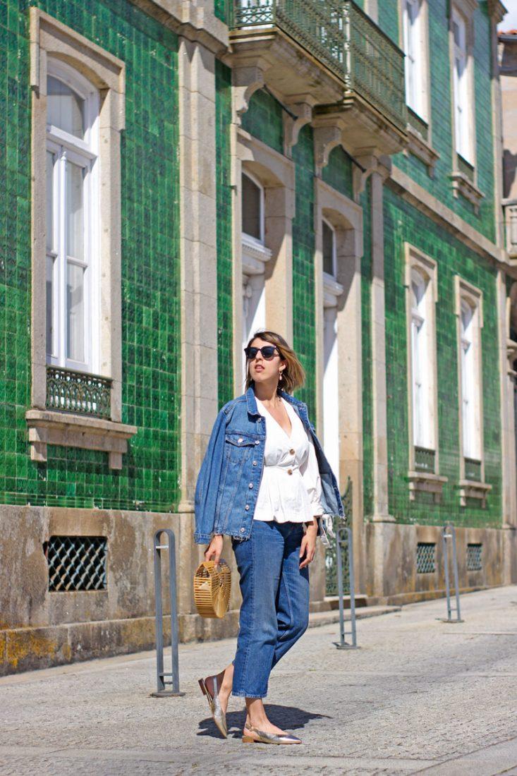 look-bailarinas-doradas-jeans-massimo-dutti