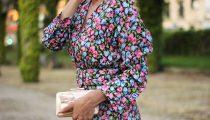 Vestido flores – Invitada Boda