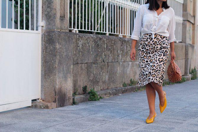 Falda leopardo ¿Cómo la combino?