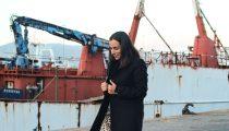 Falda midi leopardo