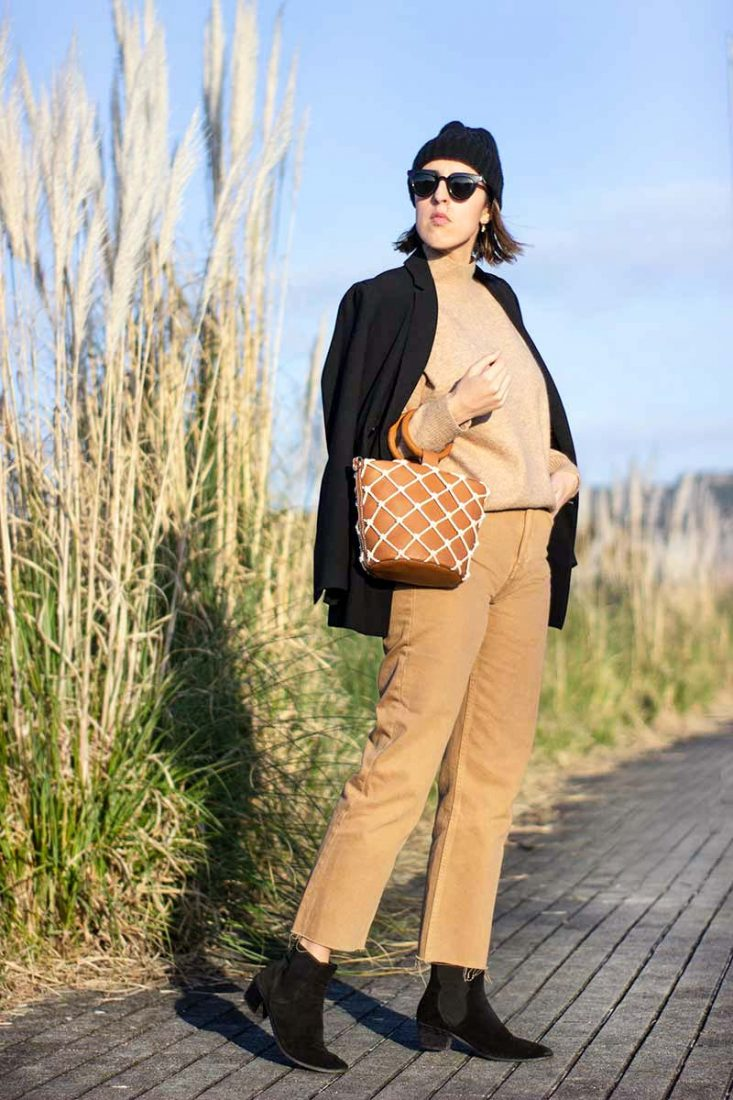 total-camel-look-street-style